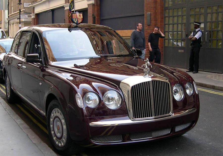 سيارات رؤساء الدول سيارة إليزابيث الثانية