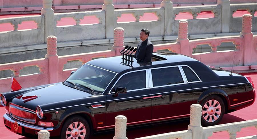 سيارات رؤساء الدول سيارة شي جين بينغ