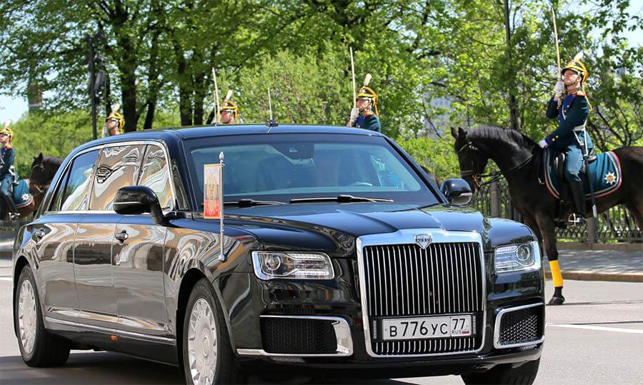 سيارات رؤساء الدول سيارة فلاديمير بوتين