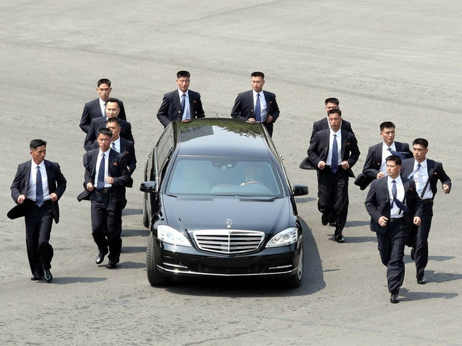 سيارات رؤساء الدول سيارة كيم جونج أون