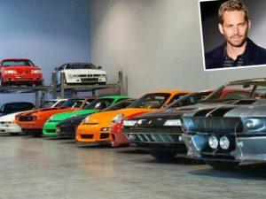 سيارات الممثل بول ووكر