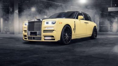 Photo of سيارة مغني الراب دريك الجديدة بمجسم مصنوع من الذهب والألماس