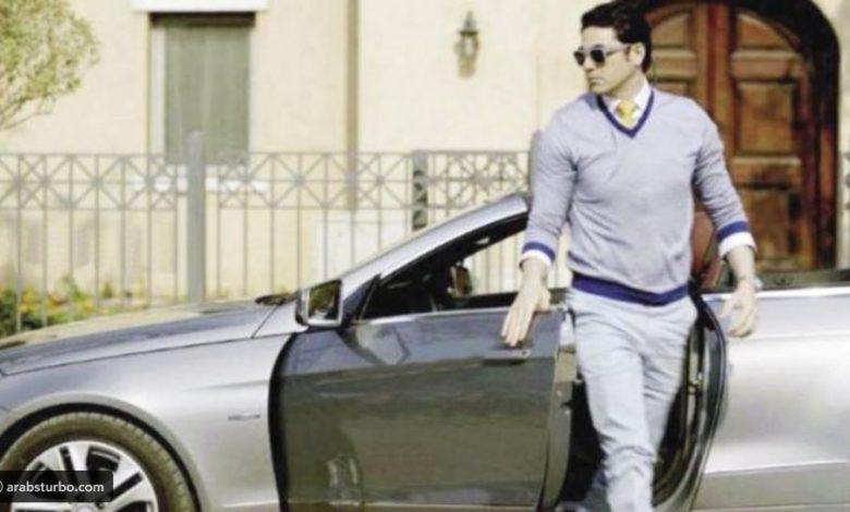 سيارة الفنان أحمد عز