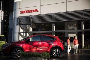 شركة هوندا للسيارات اليابانية